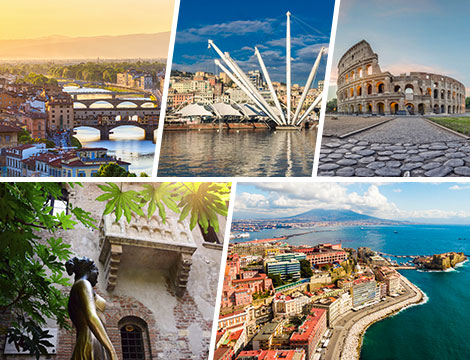 Citt d 39 arte italiane hotel x2 escursione a partire da for Soggiorno a firenze economico