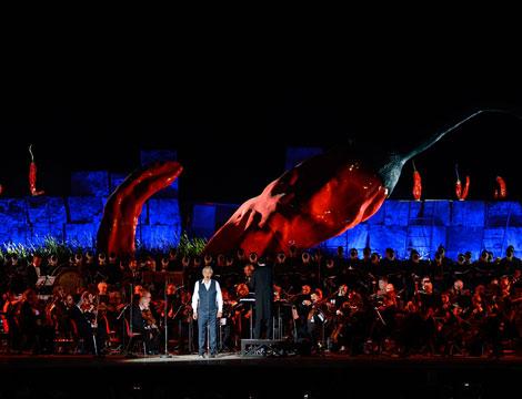 Concerto Bocelli e Hote