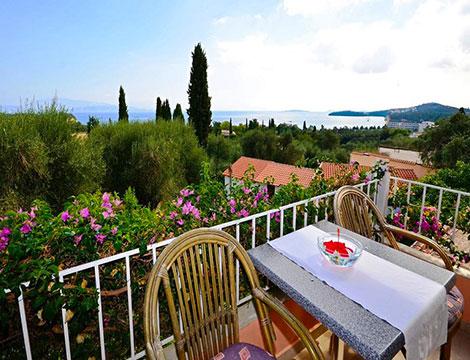 Corfu volo appartamento