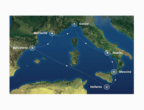 Crociera Mediterraneo MSC Bellissima