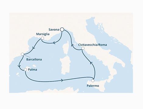 Costa Diadema Mediterraneo