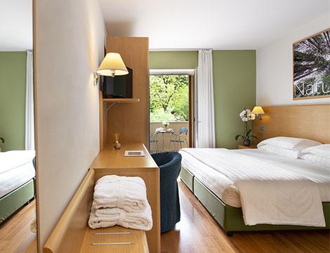 Vital Hotel Flora Dolomiti esempio camera due