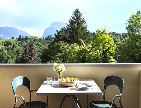 Vital Hotel Flora Dolomiti vista dalla camera