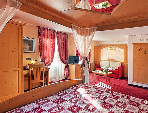 1/7 notti a Montagnaga di Pinè presso il Romantik Hotel Posta 1899