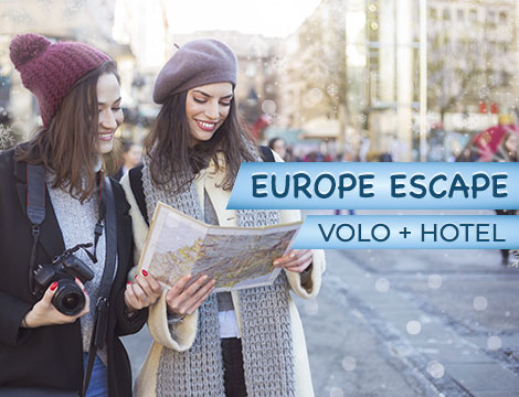 Europe Escape volo e hotel a 299€