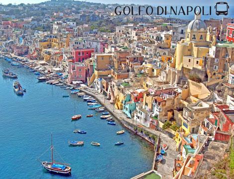 Golfo di Napoli: minitour di 3 nt