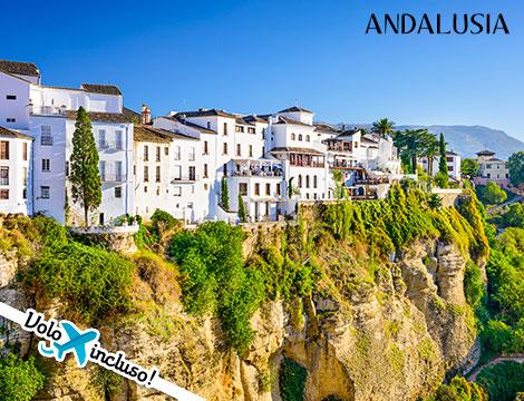 Gran tour Andalusia: volo + hotel