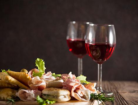 menu degustazione vini + pernottamento villa renaccio x2