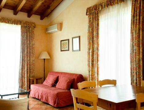 Lago di Garda in Castello x4