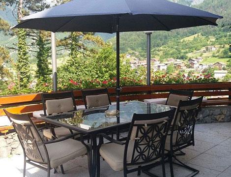 Time out con vista sulle Dolomiti a San Lorenzo in Banale