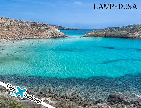 Lampedusa volo da Milano appartamento