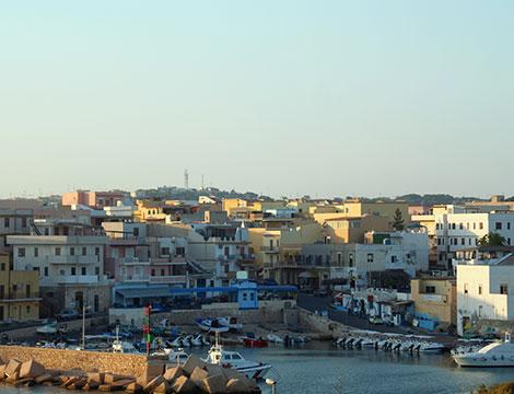 Lampedusa volo da Venezia appartamento