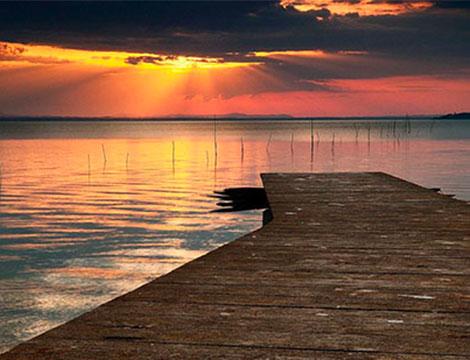 Lago Trasimeno in Umbria