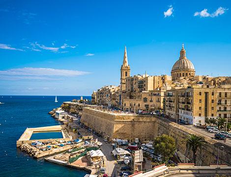 Malta volo e hotel 4 stelle