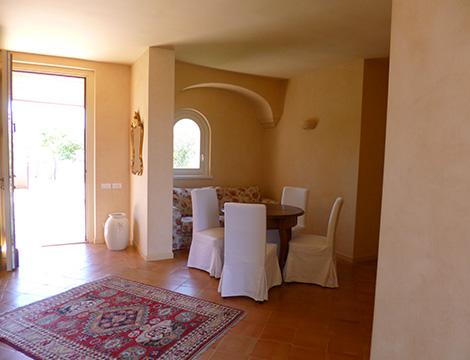 Marche Villa dei Ricordi entrata con piccola sala