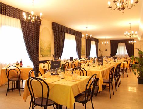 Trentino Hotel Polsa il ristorante
