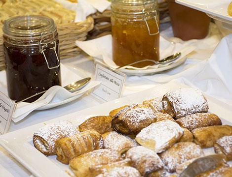 Trentino Hotel Polsa la colazione