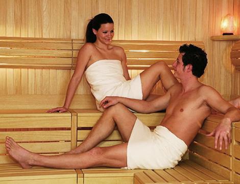 Trentino Hotel Polsa la sauna