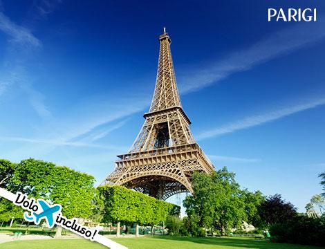 Parigi volo + hotel