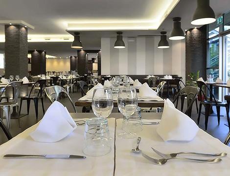 Perugia hotel La Meridiana il ristorante