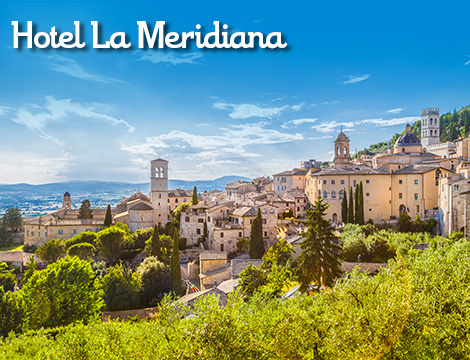 Perugia hotel La Meridiana