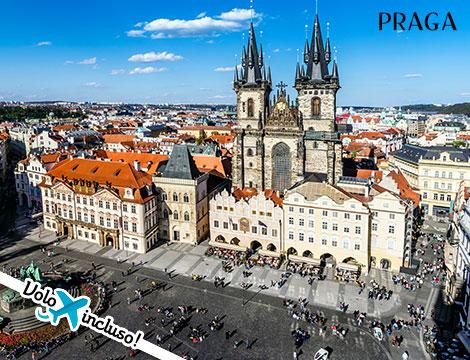 Ponte 1 Maggio a Praga: volo + hotel
