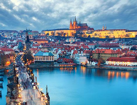 Praga volo e hotel