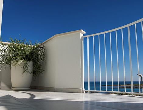Puglia hotel Cico vista dalla camera