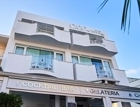 facciata Hotel Cico Puglia