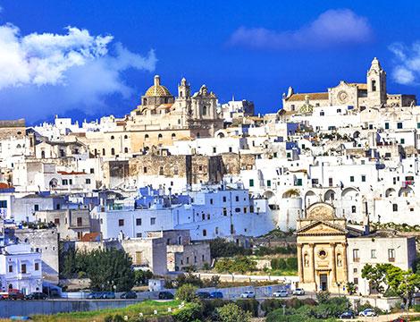 veduta di Ostuni Puglia