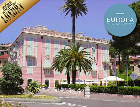 Offerta viaggio rapallo luxury x2 cena spa groupalia for Design hotel liguria