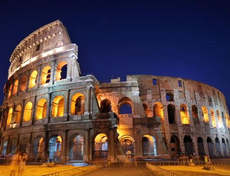 Notte romantica x2 a Roma_N