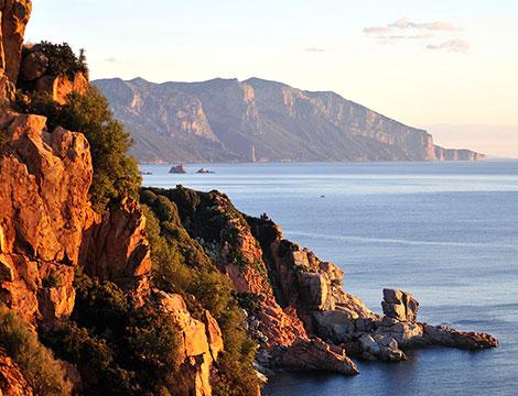 Sardegna Arbatax Park Resort il panorama delle coste sarde