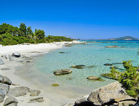 Sardegna Arbatax Park Resort la spiaggia