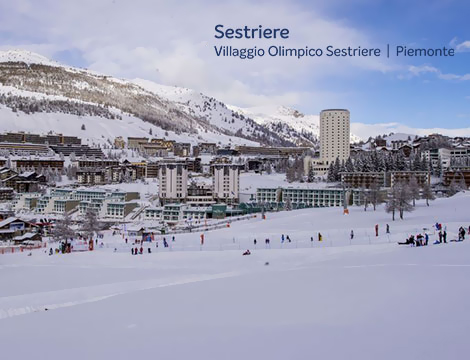 Sestriere prenota hotel 4 stelle a partire da 317 for Villaggio olimpico sestriere