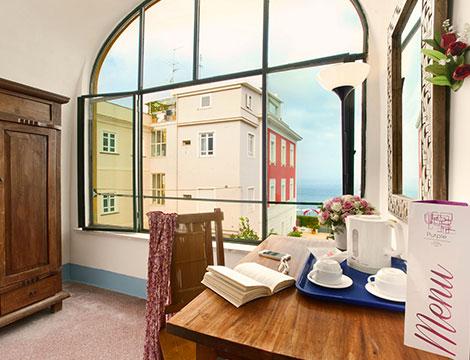 Sorrento hotel Purple in mezza pensione