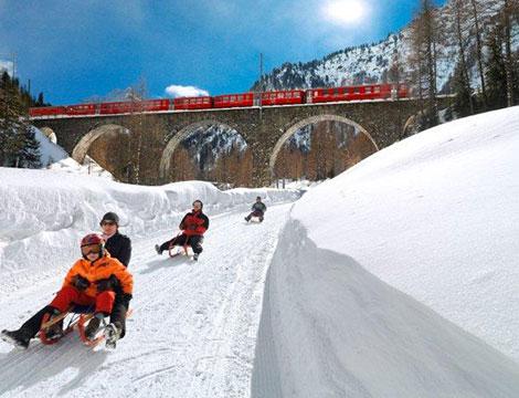 Svizzera experience: pernottamento + slitta
