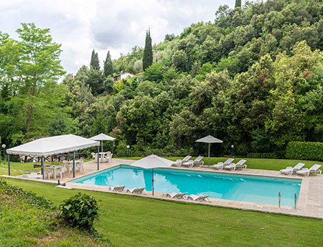 Time out in una residenza idilliaca in Toscana