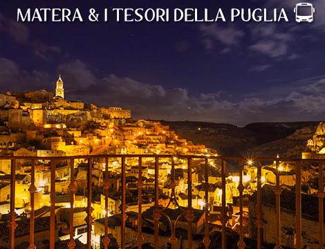 Tour Matera e Puglia in bus