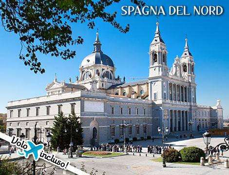 Tour Spagna del Nord: volo + hotel