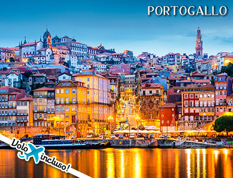 Portogallo: volo + tour