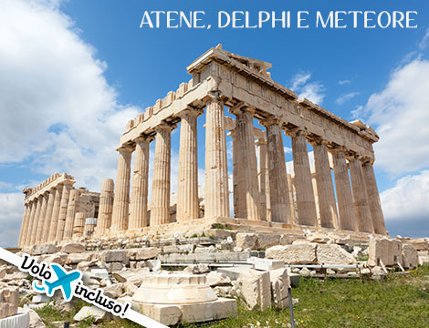 Tour della Grecia: volo + hotel