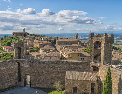 AREZZO  Montalcino e Montepulciano