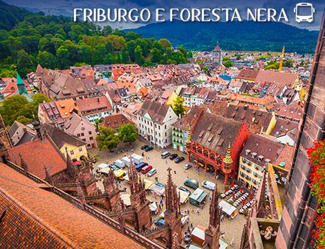 Tour in bus Friburgo e Foresta Nera a 299euro