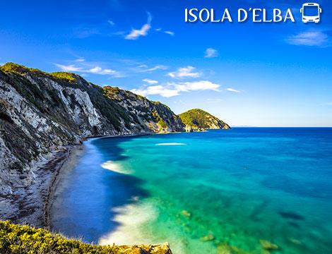 Tour in bus Isola d'Elba a 315euro