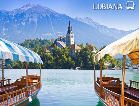 Tour in bus Lubiana, Bled e Grotte di Postumia a 169euro