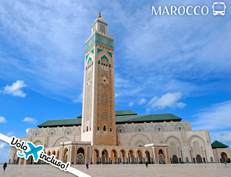 Tour in bus Marocco volo e hotel