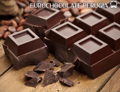 Tour in bus Perugia e Gubbio +  Eurochocolate 2020