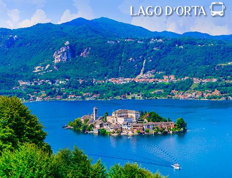 Tour in bus del Lago d'Orta a 59euro