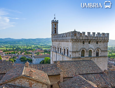 Tour in bus dell'Umbria a 329euro